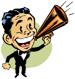 announcer office.comclipart