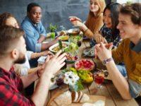 social skills, dining etiquette