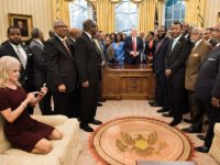 kellyanne conway, Oval office couch