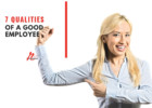 7 Qualities of a Good Employee