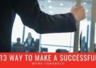 13 Ways to Make a Successful Work Comeback